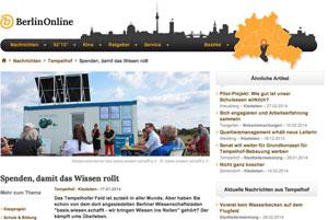 Artikel in der Berliner Woche vom 17.1.14