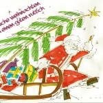Fröhliche Weihnachten wünscht basis.wissen.schafft - wir bringen Wissen ins Rollen. Auch im kommenden Jahr (c) D. Schwahlen