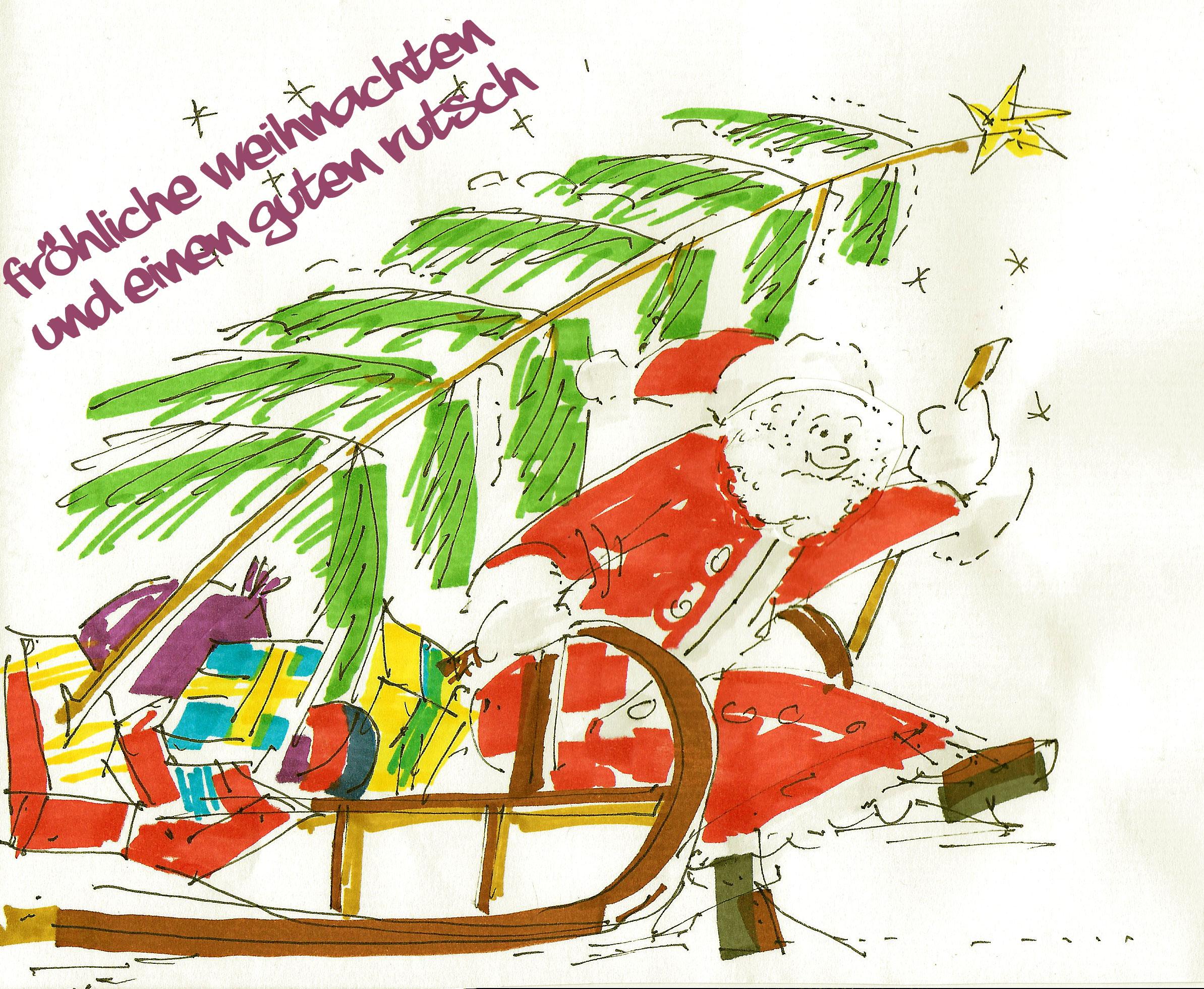 Fröhliche Weihnachten -w ir bringen Wissen ins Rollen
